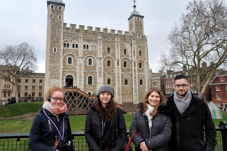 Pebbles Ambassadrice – Visite à la Tour de Londres